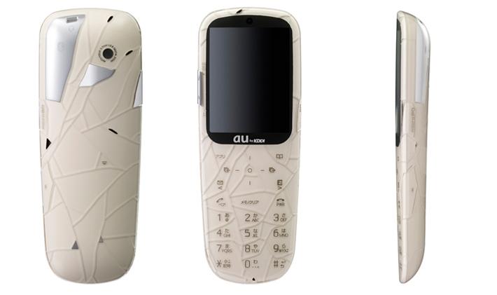 au kaos 携帯電話コンセプトモデル